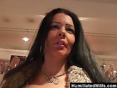 Chunky MILF Deepthroats a Cock and Swallows Hot Cum tube porn video
