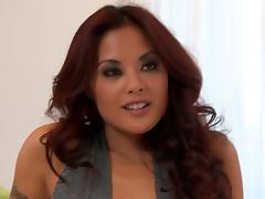 Horny Kaylani Lei gets her Asian pussy fucked hard and deep tube porn video