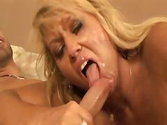Blonde Mom Fucks Daughter's Boyfriend tube porn video