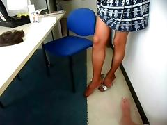 Change her Stockings!!! tube porn video