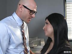 Big Tits at Work: IT's Day Dreams tube porn video