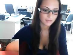 hungarian office girl 6 tube porn video