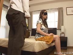 Aoi Aoyama hot mature Asian babe gets plenty of hardcore action tube porn video