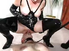 femdom face sitting with slave tube porn video