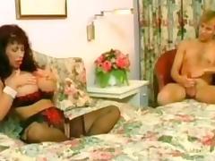 Slutty milf helps him cum tube porn video