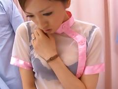 Nurse Yuri Kasiwa Fucked By Three Hospital Patients tube porn video