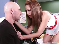 Hot sex in the hospital with doctor Tanya Tate tube porn video