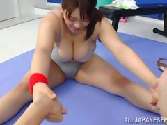 Mizuki Ann hot Asian milf gets hot tit fucking tube porn video