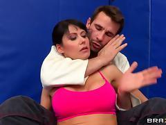 Eva Karera sucks Manuel Ferrara's dick and gets her ass torn up tube porn video
