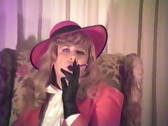 T Gurl Leather Gloves Maturbation--Enjoy! tube porn video