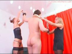 Russian-Mistress Video: Madame Margo & Irina Onyx tube porn video