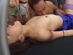 Mirei Japanese doll gets into hardcore sex tube porn video