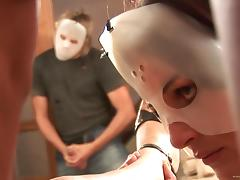 Masked Babes Get A Hardcore Anal In This Nasty Orgy tube porn video
