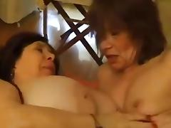 Hot French Lesbian Grannies tube porn video