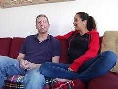 Charming Francesca Le And Mark Wood Talk Dirty In A Reality Story tube porn video
