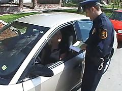 Blond bitch seduces a cop and takes him to her place for sex tube porn video