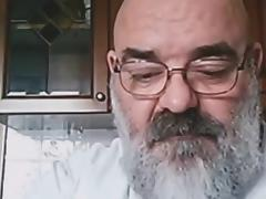 Big Hairy Mature Daddy Bear Wanks tube porn video