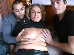 French Threesome - 8 tube porn video