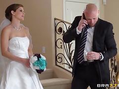 Hardcore CFNM reality scene with charming bride Jenni Lee tube porn video