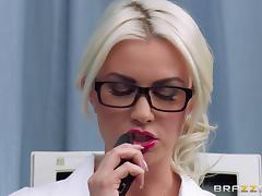 Nerdy Gigi Allens In Uniform Rides A Big Cock Hardcore Doggystyle In Orgasm tube porn video