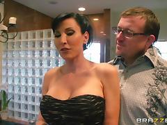 Lezley Zen gets amazingly fucked in hot voyeur scene tube porn video