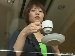 Oversexed Asian milf enjoys some hot lesbian action tube porn video