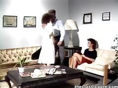 Blonde in stockings shameless fuck tube porn video