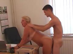 Office lady and her subordinate! Russian Amateur! tube porn video