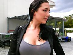 Amateur girl sucks and fucks for cash tube porn video