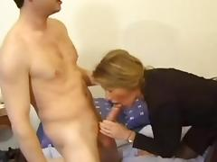 FRENCH PORN 5 anal mature mom milf and younger man tube porn video