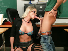 Brittanie Lane & Seth Gamble in My First Sex Teacher tube porn video